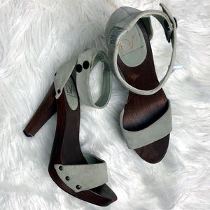 Diane Von Furstenberg Platform Heels